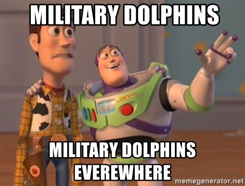 Tseverywhere -  military dolphins military dolphins everewhere