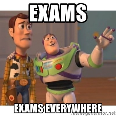 Toy story - exams EXAMS EVERYWHERE