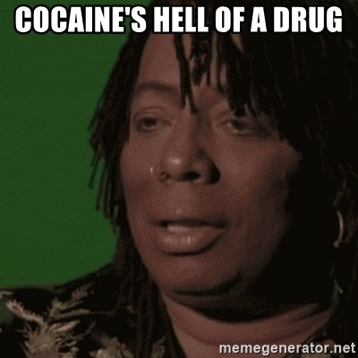 Rick James - CoCAine's hell of a drug