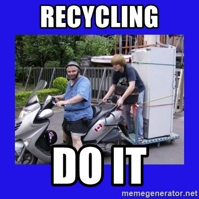 Motorfezzie - Recycling Do IT