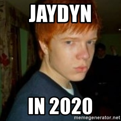 Flame_haired_Poser - JAYDYN  IN 2020