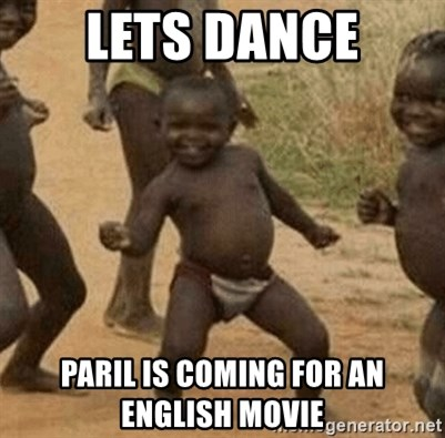 Success African Kid - lets dance paril is coming for an english movie