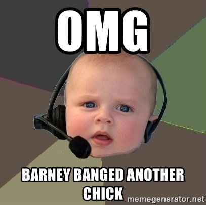 FPS N00b - OMG  Barney banged another chick