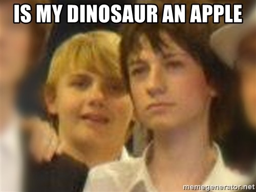 Thoughtful Child - IS MY DINOSAUR AN APPLE