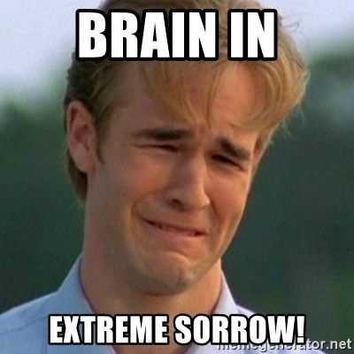 90s Problems - Brain in Extreme sorrow!