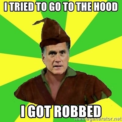 RomneyHood - I TRIED TO GO TO THE HOOD I GOT ROBBED