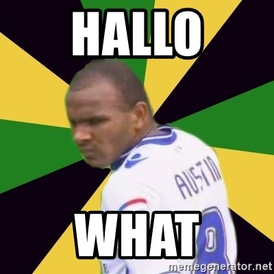 Rodolph Austin - HALLO WHAT