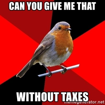 Retail Robin - Can you give me that Without taxes