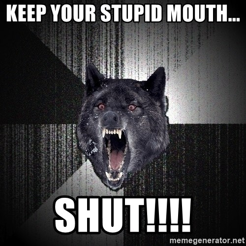flniuydl - keep your stupid mouth... shut!!!!