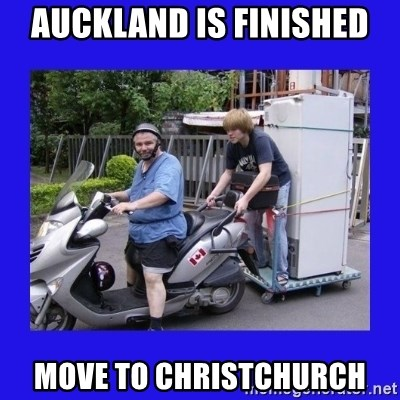 Motorfezzie - AucKland iS finished Move to christchurch