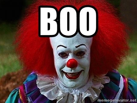 Pennywise the Clown - boo