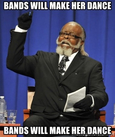 Rent Is Too Damn High - BANDS WILL MAKE HER DANCE BANDS WILL MAKE HER DANCE