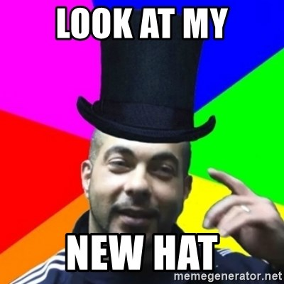 facebookazad - LOOK AT MY NEW HAT