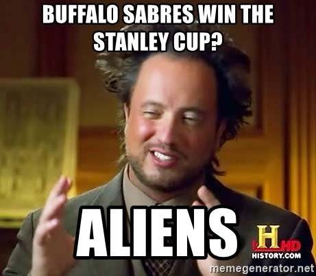 Ancient Aliens - Buffalo sabres win the stanley cup? Aliens