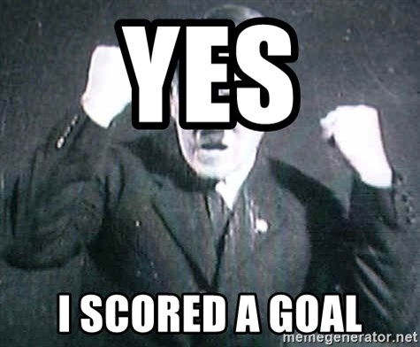 Successful Hitler - YES I SCORED A GOAL