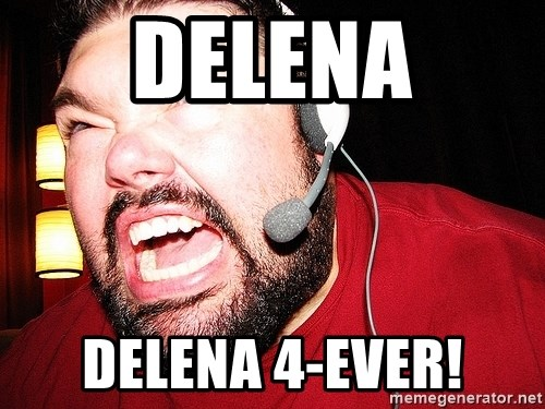 Angry Gamer - DELENA DELENA 4-EVER!