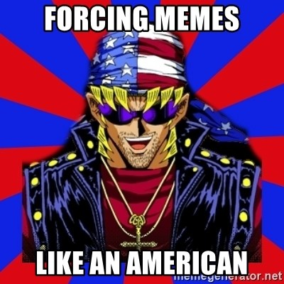 bandit keith - forcing memes like an american