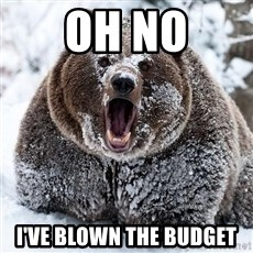 Cocaine Bear - Oh No I've blown the budget