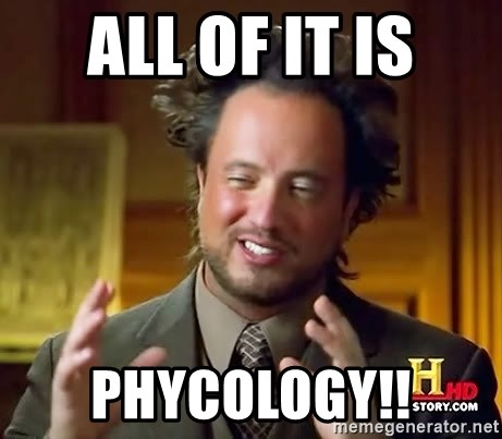 Ancient Aliens - all of it is phycology!!