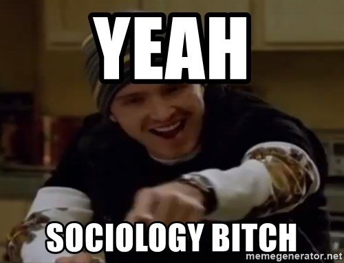 Science Bitch! - yeah sociology bitch