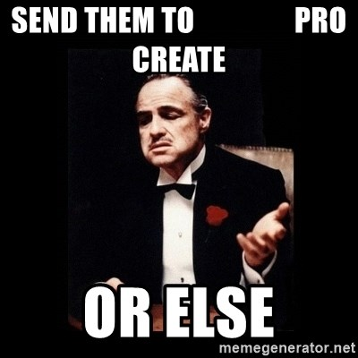 The Godfather - Send them to                 pro create or else
