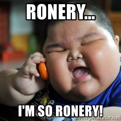fat chinese kid - RONERY... I'm SO RONERY!