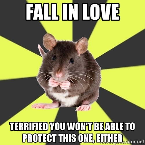 Survivor Rat - Fall in Love Terrified you won't be able to protect this one, either
