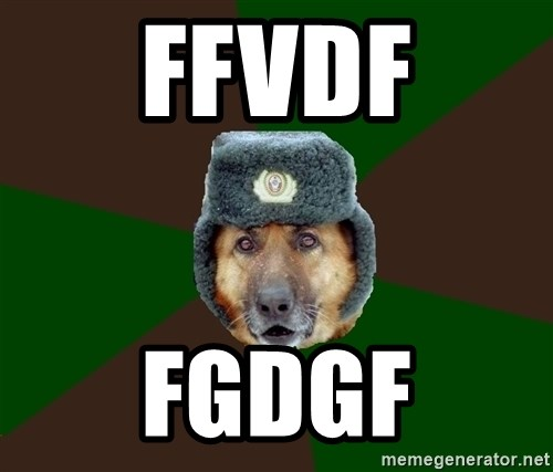 army-dog - ffvdf fgdgf