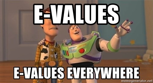 Toy Story Everywhere - E-VALUEs E-VALUES EVERYWHERE