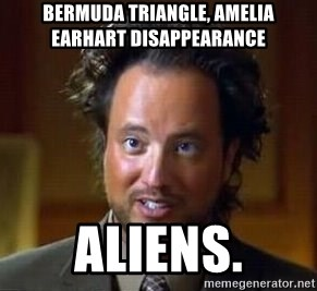 Ancient Aliens - Bermuda Triangle, Amelia Earhart Disappearance Aliens.