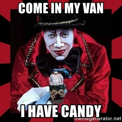 willianss - COME IN MY VAN I HAVE CANDY