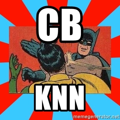 Batman Bitchslap - CB KNN