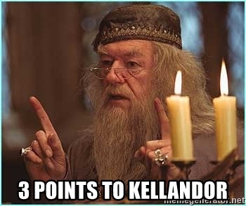 dumbledore fingers -  3 POINTS TO KELLANDOR