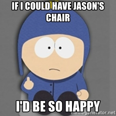 South Park Craig - if i could have jason's chair i'd be so happy