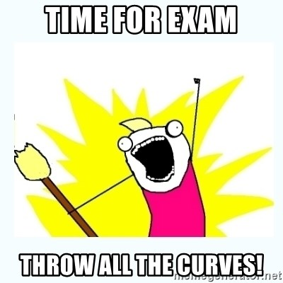 All the things - Time for exam throw all the curves!