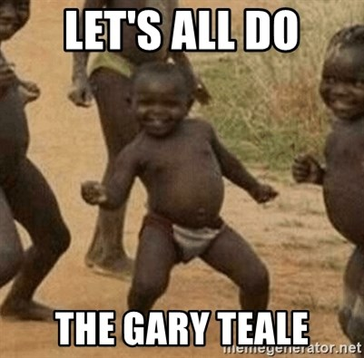 Success African Kid - Let's all do the gary teale