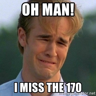 90s Problems - Oh man! I miss the 170