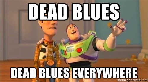 Consequences Toy Story - Dead blues dead blues everywhere