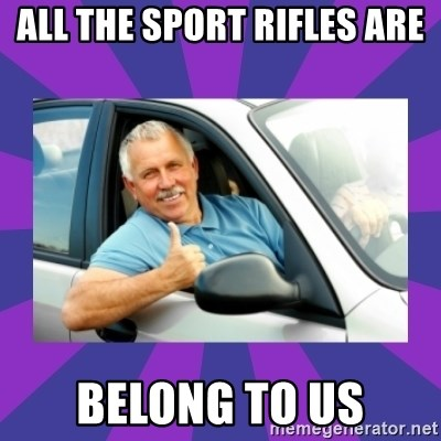 Perfect Driver - all the sport rifles are belong to us