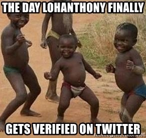 african children dancing - The DaY LOHANTHONY FINALLY GETS VERIFIED ON TWITTER