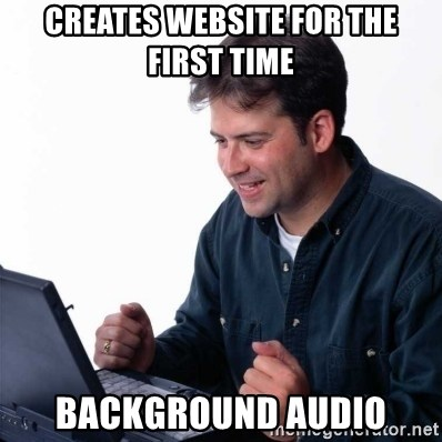 Net Noob - Creates website for the first time Background Audio