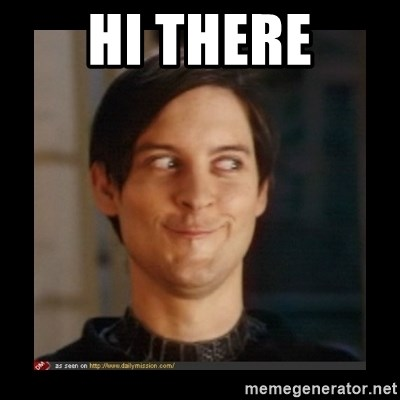 Tobey_Maguire - HI THERE