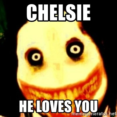 Tipical dream - CHELSIE  HE LOVES YOU