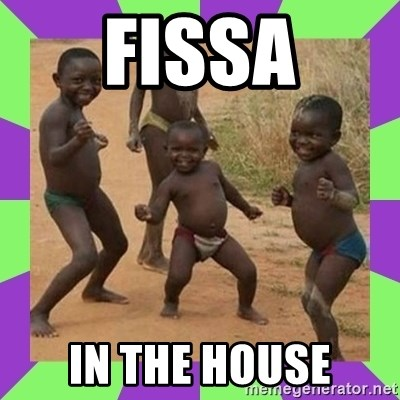 african kids dancing - FISSA IN THE HOUSE