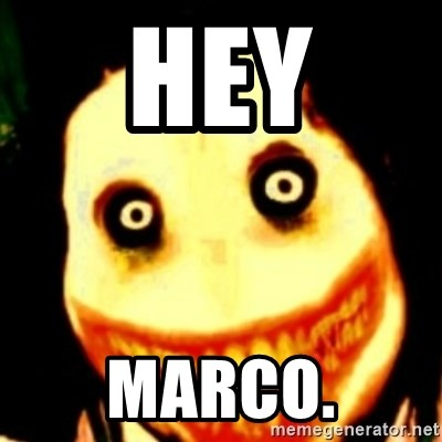 Tipical dream - HEY MARCO.