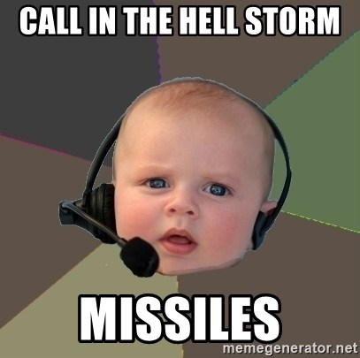 FPS N00b - CALL IN THE HELL STORM  MISSILES