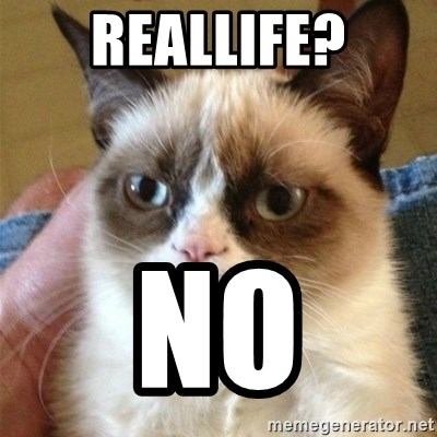 Grumpy Cat  - Reallife? NO