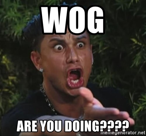 Pauly D - wog are you doing????