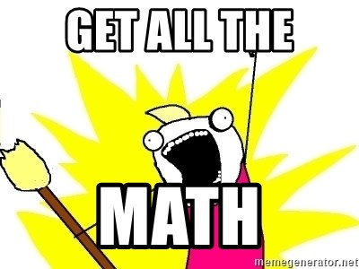 X ALL THE THINGS - get all the math