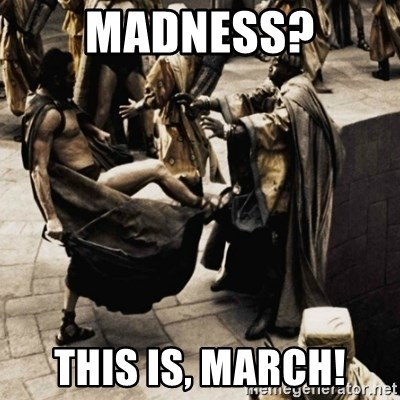 sparta kick - madness? this is, march!